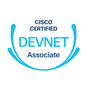 DXNet is aiming to be in the first 500 certificates on Cisco Devnet Associate certification